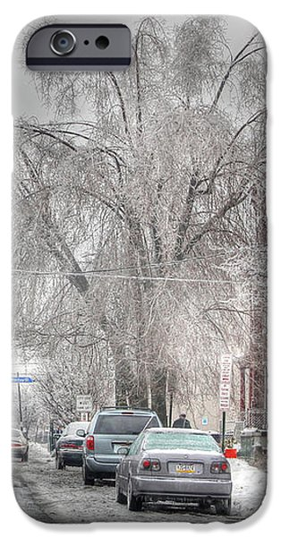 Harrisburg on Ice iPhone Case by Lori Deiter