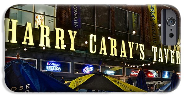 Analyst iPhone Cases - Harry Caray Tavern iPhone Case by Frozen in Time Fine Art Photography