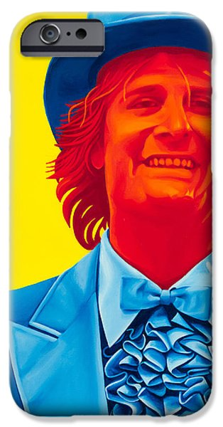 Daniel iPhone Cases - Harry Dunne iPhone Case by Ellen Patton