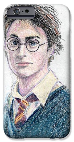 harry potter - daniel radcliffe iPhone Case by Yoshiko Mishina