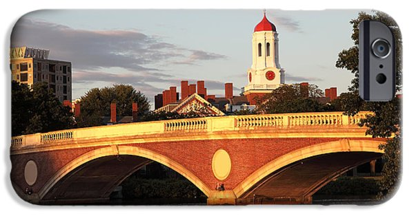 Recently Sold -  - Charles River iPhone Cases - Harvard iPhone Case by Denis Tangney Jr