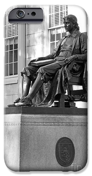 Special Occasion iPhone Cases - Harvard University John Harvard  iPhone Case by University Icons
