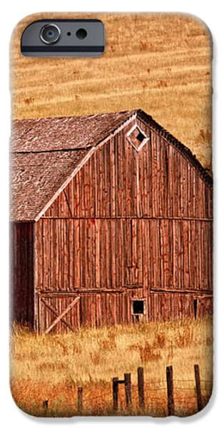 Harvest Barn iPhone Case by Mary Jo Allen