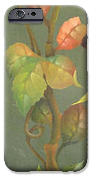 Garden Scene Paintings iPhone Cases - Harvest Grapevine iPhone Case by Doreta Y Boyd