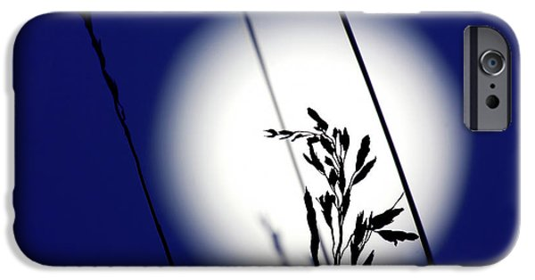 Moonscape iPhone Cases - Harvest Moon iPhone Case by Jim Garrison