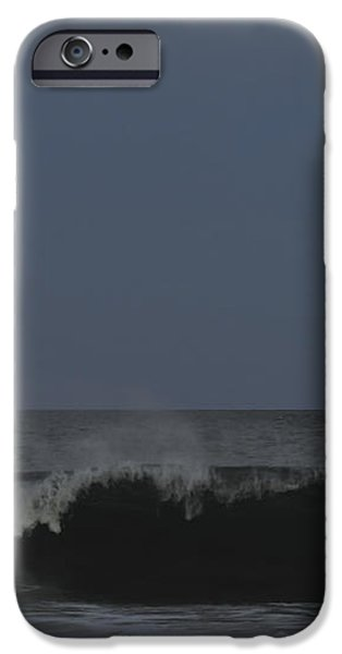 Harvest Moon Seaside Park NJ iPhone Case by Terry DeLuco