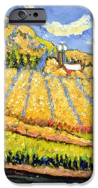 Harvest St Germain Quebec iPhone Case by Patricia Eyre
