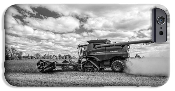 Harvest Time iPhone Cases - Harvest Time iPhone Case by Dale Kincaid