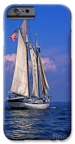 Tall Ship iPhone Cases - Harvey Gamage iPhone Case by Skip Willits