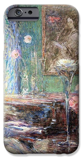 Hassam's Improvisation iPhone Case by Cora Wandel