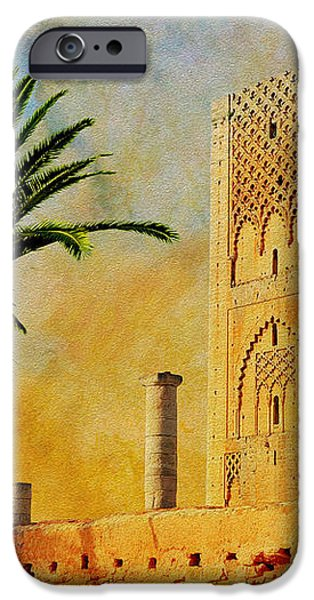 Hassan Tower iPhone Case by Catf