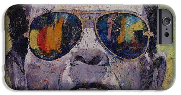 Michael iPhone Cases - Frankenstein iPhone Case by Michael Creese