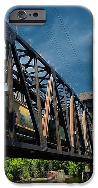 Hastings Train Bridge 2 iPhone Case by Todd and candice Dailey