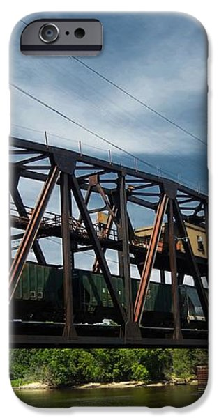 Hastings Train Bridge 3 iPhone Case by Todd and candice Dailey