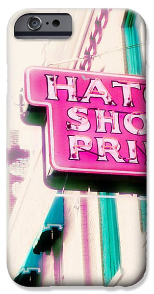 Hatch Show Print iPhone Case by Amy Tyler