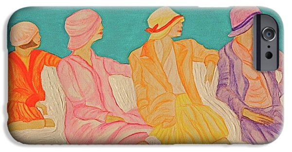 First Lady iPhone Cases - Hats by jrr iPhone Case by First Star Art