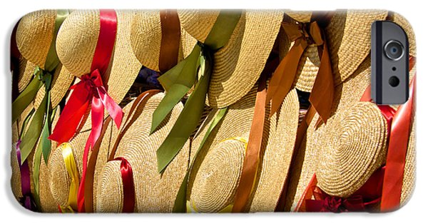 Ruin iPhone Cases - Hats Galore iPhone Case by Kathi Isserman