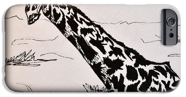 Animation iPhone Cases - Haughty iPhone Case by Beverley Harper Tinsley