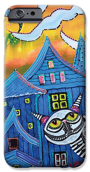 Haunted Hollow iPhone Case by Laura Barbosa