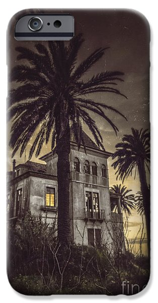 Haunted House iPhone Cases - Haunted House iPhone Case by Carlos Caetano