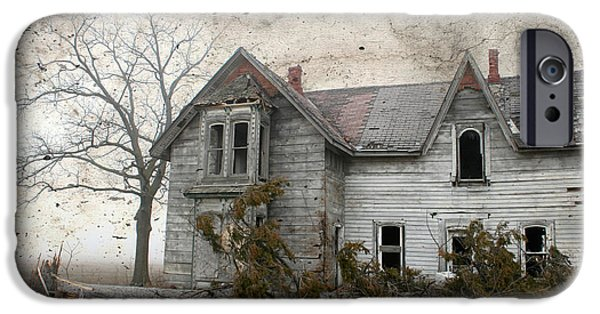 Recently Sold -  - Haunted House iPhone Cases - Haunted House iPhone Case by Kathy Stanczak