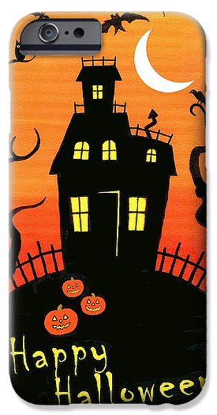 Haunted House part one iPhone Case by Linda Mears