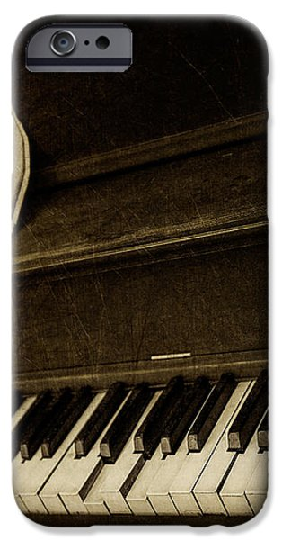 Haunted Melody iPhone Case by Amy Weiss