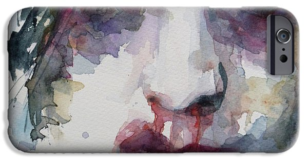 Lips iPhone Cases - Haunted   iPhone Case by Paul Lovering