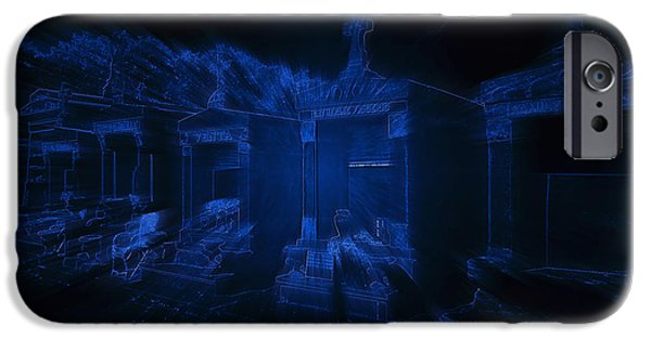 The Vault iPhone Cases - Haunted St Louis Cemetery No 3 New Orleans iPhone Case by Christine Till