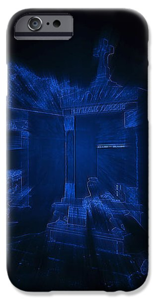 Haunted St Louis Cemetery No 3 New Orleans iPhone Case by Christine Till