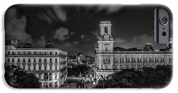 Havana iPhone Cases - Havana by Night iPhone Case by Erik Brede