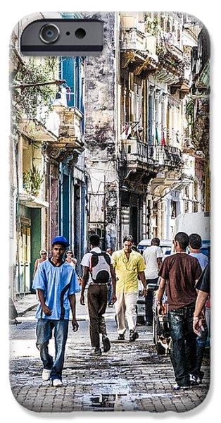 Havana Street VII iPhone Case by Jim Nelson