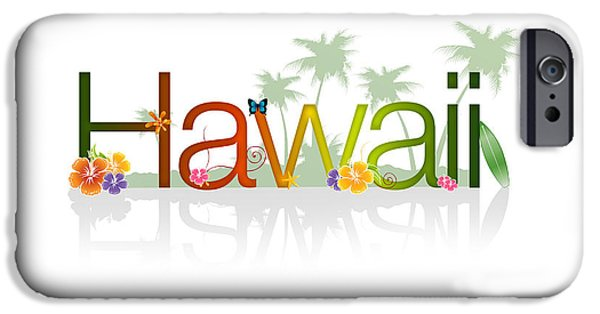 Hawaii Islands iPhone Cases - Hawaii iPhone Case by Aged Pixel