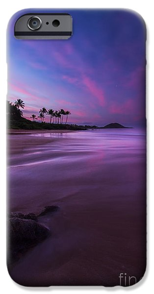 Dark Sky iPhone Cases - Hawaii First Light Sunrise iPhone Case by Dustin K Ryan