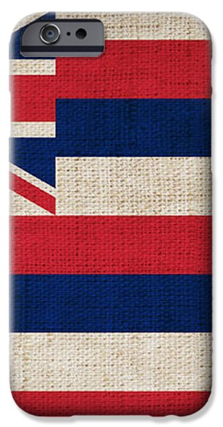 Hawaii State Flag  iPhone Case by Pixel Chimp