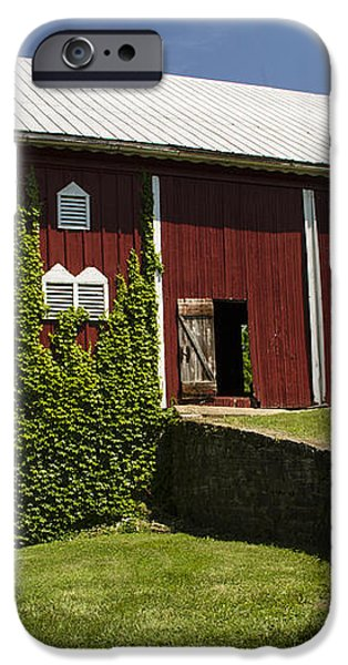 Hay Barn iPhone Case by Guy Shultz