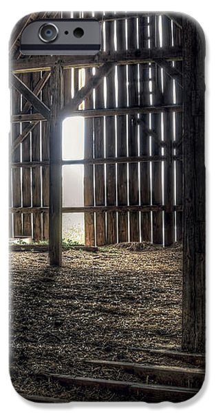 Hay Loft 2 iPhone Case by Scott Norris
