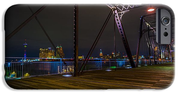 Resilience iPhone Cases - Hays Street Bridge iPhone Case by David Morefield