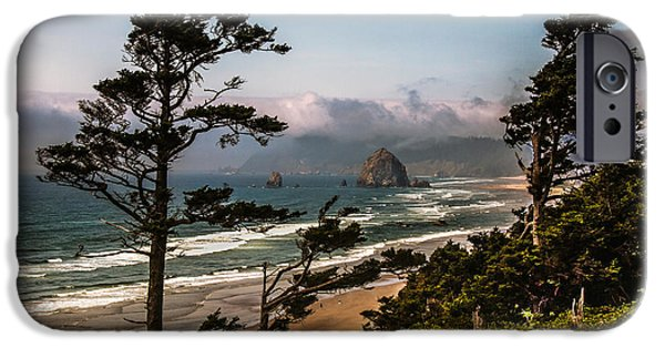 Seacapes iPhone Cases - Haystack Framed iPhone Case by Robert Bales