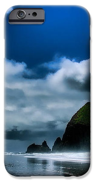 Haystack Rock III iPhone Case by David Patterson