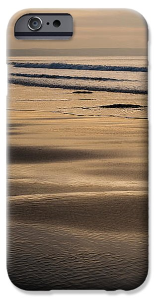 Hazy Croyde iPhone Case by Anne Gilbert