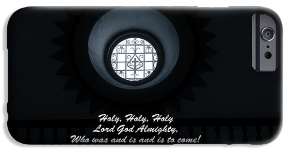 Sacrifice Mixed Media iPhone Cases - He Is Coming - Revelation 4  8 iPhone Case by Ella Kaye Dickey