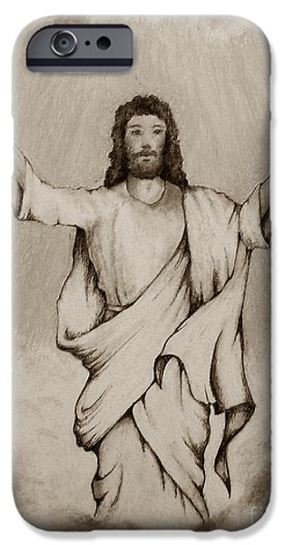 He Is Risen iPhone Case by Catherine Howley