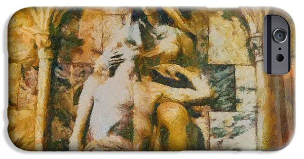 Pope Mixed Media iPhone Cases - He Is Risen iPhone Case by Dan Sproul