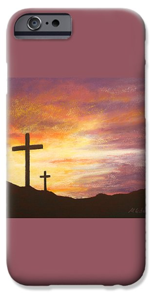 He is Risen iPhone Case by Marna Edwards Flavell