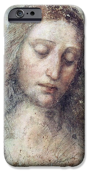Head of Christ iPhone Case by Karon Melillo DeVega