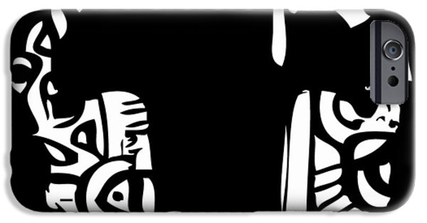Etc. Digital Art iPhone Cases - Head Of The Class iPhone Case by Kamoni Khem