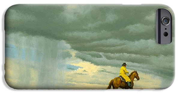 New Mexico iPhone Cases - Heading Home iPhone Case by Paul Krapf