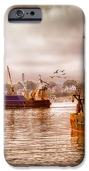 Heading Out iPhone Case by Bob Orsillo