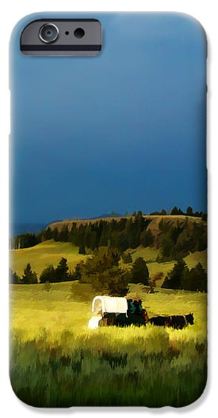 Heading West iPhone Case by Edward Fielding